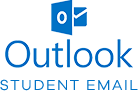 outlook Student Email link and icon