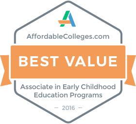 Badge for Best Value in Early Childhood Education Programs
