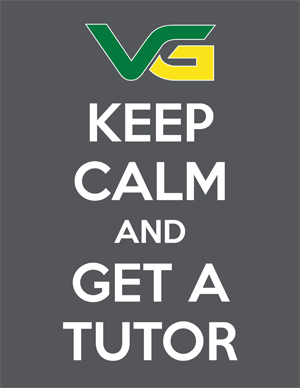 Keep Calm and Get a Tutor poster