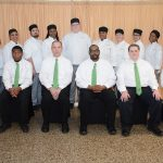 All of the culinary students and instructors that worked the 2019 dinner theater