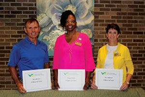 Employees celebrating 15 years of service with VGCC