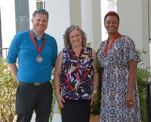 Award winners at Henderson CC