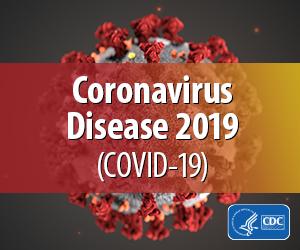 CDC Coronavirus Disease 2019 badge