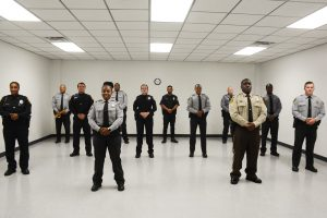 BLET graduates standing