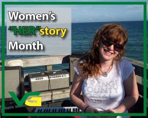 "Women's ""Her""story Month. Photo of Sara Bell"