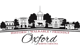 City of Oxford Logo - Historic, Walkable, Friendly - Oxford, NC